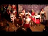 выступление Алены на новогоднем вечере с танцевальной студией