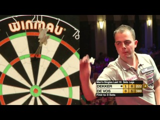 Geert De Vos vs Jan Dekker (Winmau World Masters 2013 / Last 16)