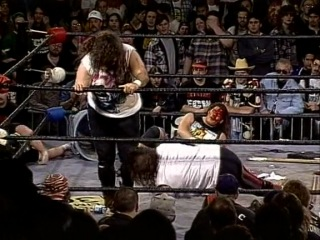 Cactus Jack (Mick Foley) & Raven vs. Terry Funk & Tommy Dreamer (ECW November To Remember 1995)