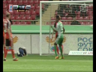 Футбол. Россия - Премьер-Лига. 13-й тур Терек - Урал 1:0
