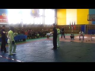 Кубок Кузбасса по Рукопашному бою, финал до 80 кг Ошлыков Егор vs Козлов Сергей