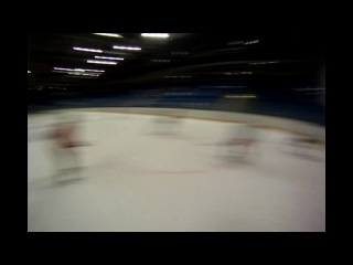 Go PRO cam - Камера на шлеме защитника (Хоккей)