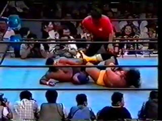 Takada/Kakihara/Sano vs. Gedo/Jado/Fuyuki