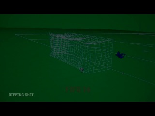 Fifa 14 - real ball physics - test bed footage