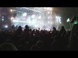 Rammstein завершает свое выступление на рнв 2013.