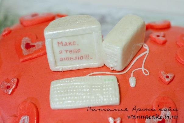 Торт из мастики начинка красивые