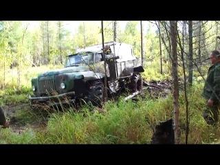 Вездеход на базе Газ-66 и колёсах Т-150