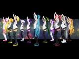 Vocaloid Вокалоиды - MMD PV Sekka Yufu, Imoito Defoko (Uta Utane), Acme Iku, Miku Hatsune, Kasane Teto, Akita Neru, Yowane Haku, Kagamine Rin Секка Юфу, Дефоко (Ута Утане), Акмэ Ику, Мику Хатсуне, Акита Неру, Касане Тето, Йоване Хаку, Кагамине Рин (Vocaloid - Galaxias!)