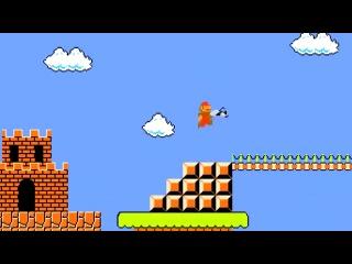 Супер Марио с пухой из Portal. Прикол.mp4
