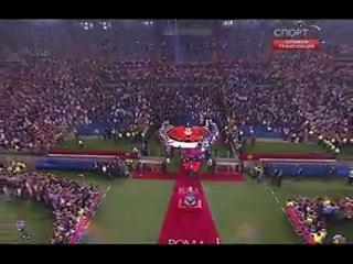 Лига Чемпионов 2008-09 / Финал / Барселона - Манчестер Юнайтед / РТР-Спорт / Церемония награждения