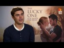 The Lucky One - Zac Efron EXCLUSIVE Interview 2012