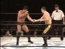 UWF 09.02.1990 - Kazuo Yamazaki vs. Nobuhiko Takada (4 match)