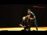 Kaytee Namgyal & Chiara Tobia (India - Italy) Bachata Showdance @ Istanbul International Dance Festival 2011