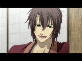 Hakuouki Shinsengumi Kitan TV-1 / Сказание о демонах сакуры ТВ-1 [02 из 12] Озвучка Eladiel & Zendos