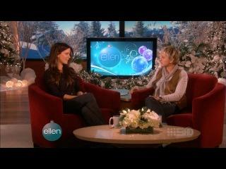 Kate Beckinsale - Ellen Show