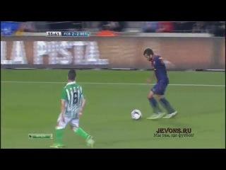 Барселона 4 - 2 Реал Бетис. Обзор матча.