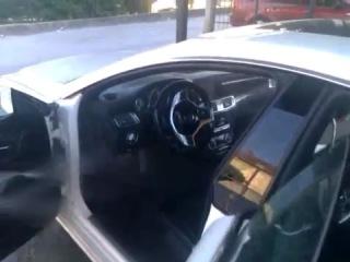 Mercedes cls 350 правильная мойка )