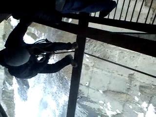 Прыг с моста.Даня..18.03.12