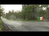 Затяжной прыжок WRC Subaru Impreza WRX STI jump