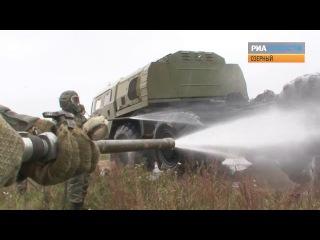 Молодые офицеры РВСН запустили ракету и устроили душ «Тополю-М»