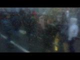 Оцените количество полиции в субботу! Съемка из 33 троллейбуса. 10 декабря 2011 около 17:00, Митинг на Болотной площади.