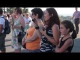 Супер флешмоб в Казани Свадьба у стен Кремля!!! Flash mob in Kazan 2013