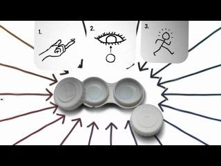 пользоваться контактными линзами Акувью Джонсон&Джонсон очень просто