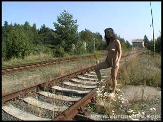Michael Casta nude in public - 2