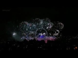 London Fireworks - New Year / Фейерверк в Лондоне - Новый год (2012) - Full HD