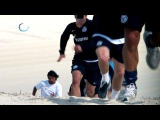 Сборы в Дубае: утренняя тренировка, 17 января