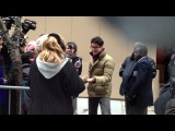 Darren Criss after Live!With Kelly show