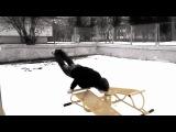 Ghetto Workout_snow training...