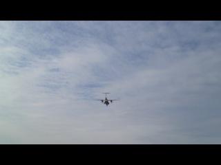 ATR 42-500 NordStar посадка