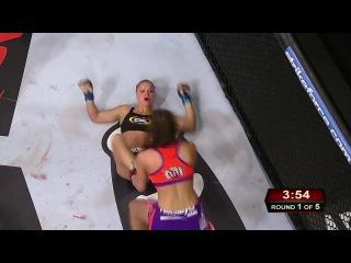 Ронда Роузи vs. Миша Тейт (один из лучших боёв женского MMA)