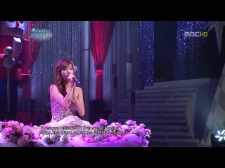 [PERF] Jessica - When You Wish Upon A Star (MBC SNSD Christmas Special /24.12.11)