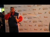 Александр Муромский на дружеской премьере нового фильма Сергея Безрукова