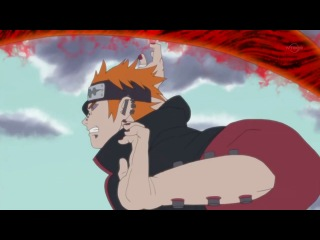Naruto vs Nagato (Kyybi vs Pain) - Shippuuden ep. 167 cut.