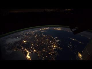 Полёт на МКС вокруг Земли !!