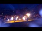 Fire шоу на день посёлка