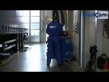 Регулировка схождения грузовика оборудованием TruckCam