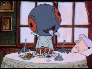 Старушка и голуби - La Vielle Dame Et Les Pigeons (Sylvain Chomet) 1998субтитры