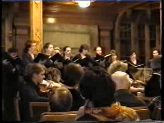 И.С.Бах, кантата 131. Камерный хор и оркестр Санкт-Петербургский Моцартеум, 1994 г.