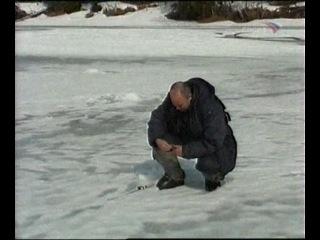 Зимняя ловля рыбы на севере Коми