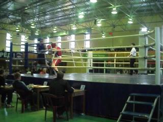 г. Удомля Открытый турнир по боксу памяти Н.И.Сульжука декабрь 2011года. Веовая категория до 81 кг.