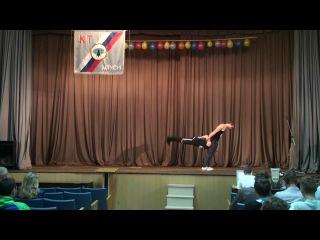 Парная силовая акробатика. Юрий Милеев и Руслан Блынский (02.09.2013)