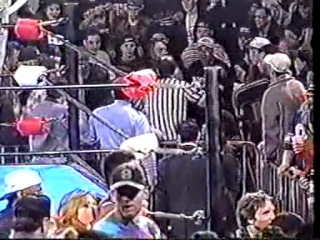 (WWE.my1.ru) ECW Cyberslam 1997 - Rob Van Dam & Sabu vs. The Eliminators (Tables & Ladders ECW Tag Team Championship)