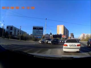 ДТП на перекрестке Ойунского-Каландаришвили от 22.08.13