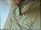 Резьба по дереву в стиле Татьянка (Видео-урок)