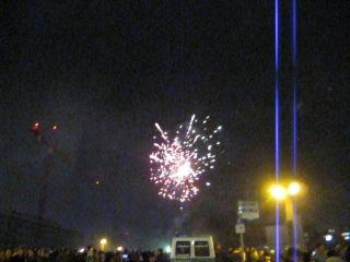 Feuerwerk. Berlin 2012