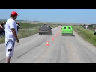 ваз 2108 vs ваз 2113 гонки SDR 15-06-2013